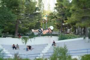 korelko camp activités Flying Fox