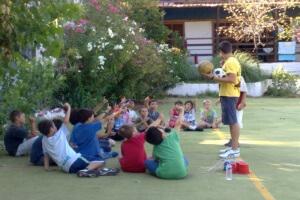 korelko camp activités foot leçons