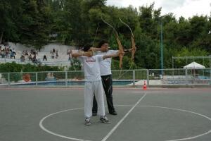 korelko camp activités tir à l'arc